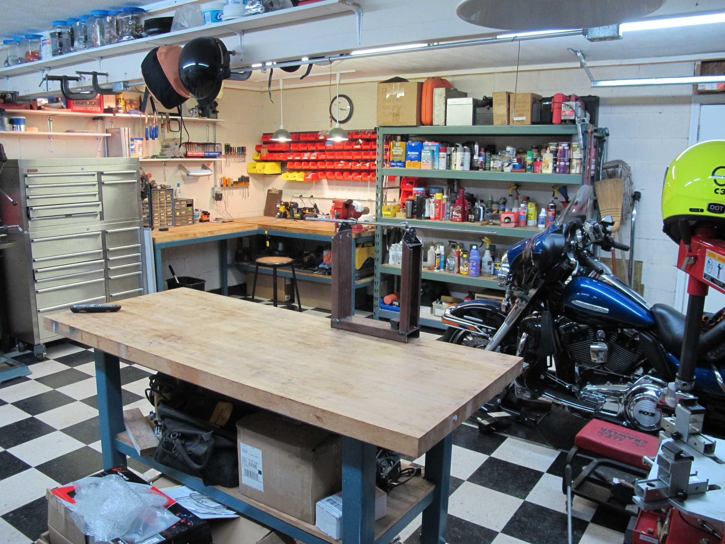 106 best Bike Garage Shed Workshop Man Cave interiors and styles ...